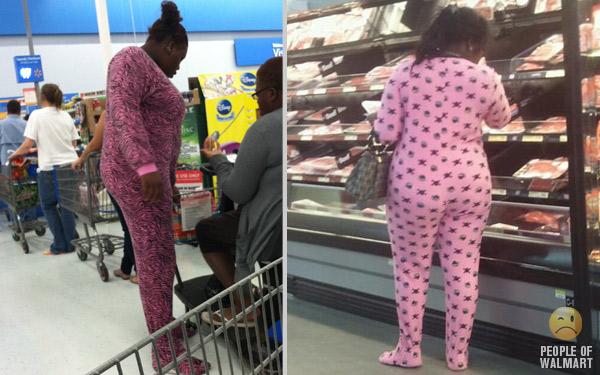 fare la spesa al Walmart